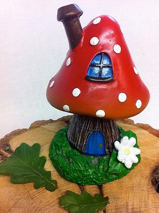 Fairy Shroom House Incense Burner