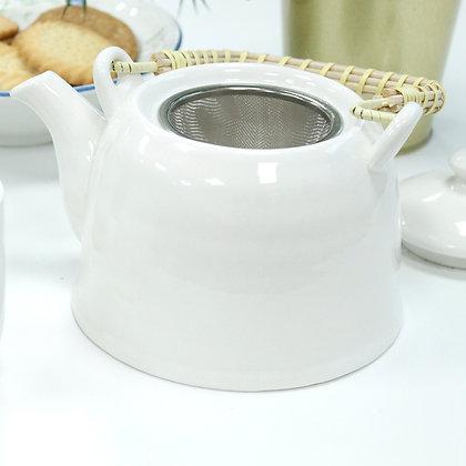 White Tea Set