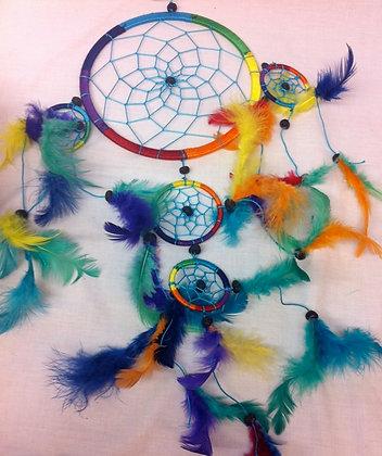 Fair Trade Rainbow Dreamcatcher