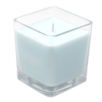 Baby Powder Soy Candle in Recycled Glass Pot