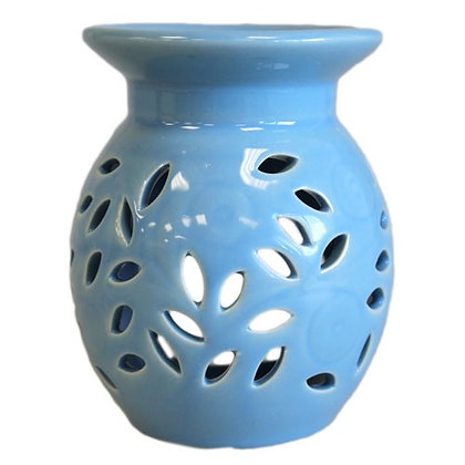 Forget-Me-Not Blue Leaf Oil Burner