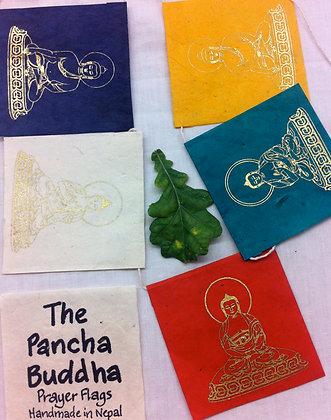 Fair Trade Pancha Buddha Flags