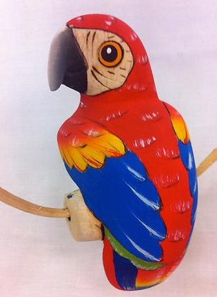 Fair Trade Wooden Parrot