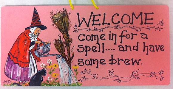 Welcome. Come in for a spell and have some brew.