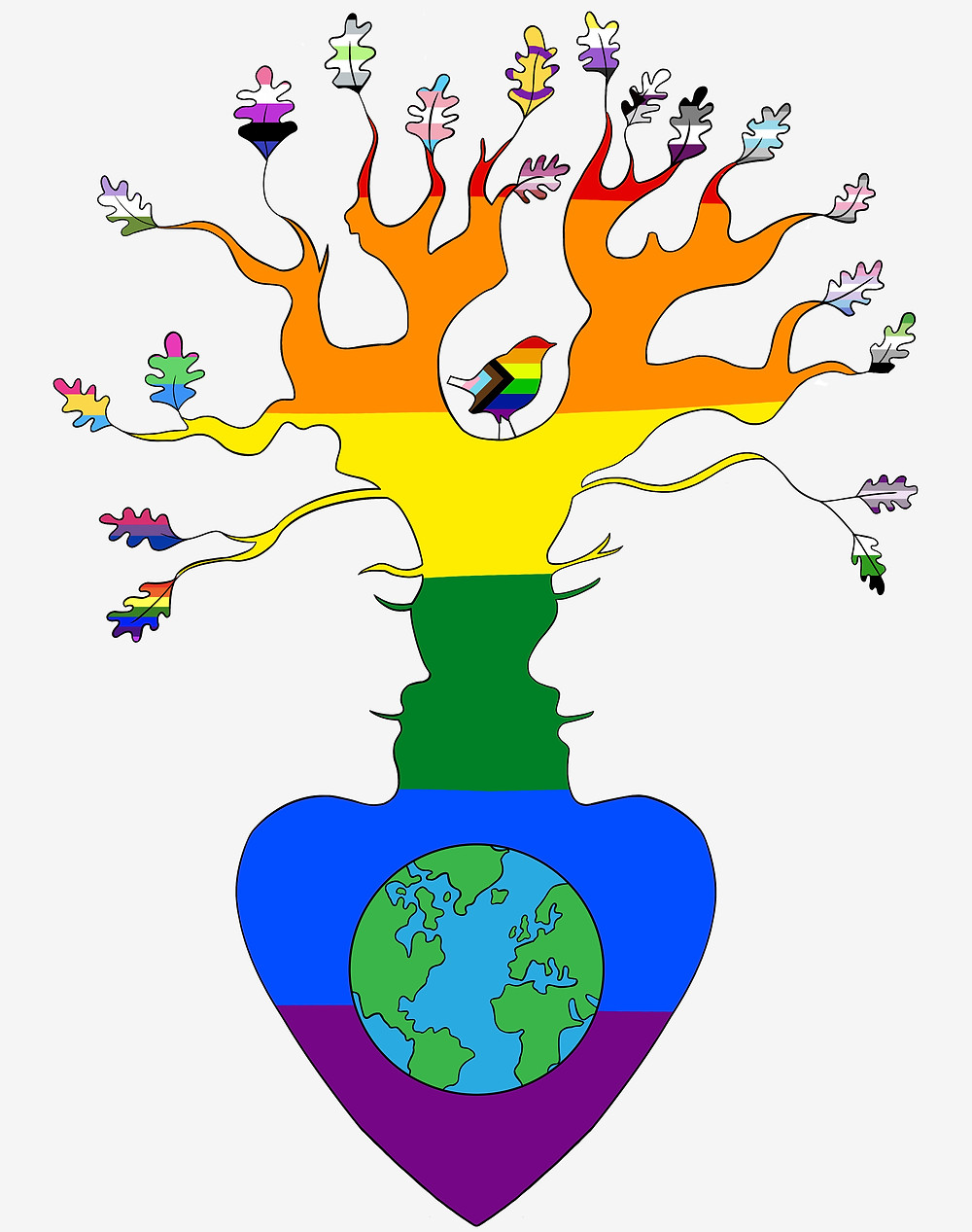 Ancient and Sacred Trees logo