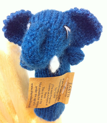 Fair Trade Elephant Puppet