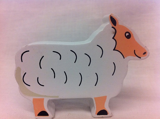 Fair Trade wooden sheep