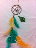 Handmade dreamcatcher by British Artists Rebbecca at Jck In The Green Ethical Gift Shop