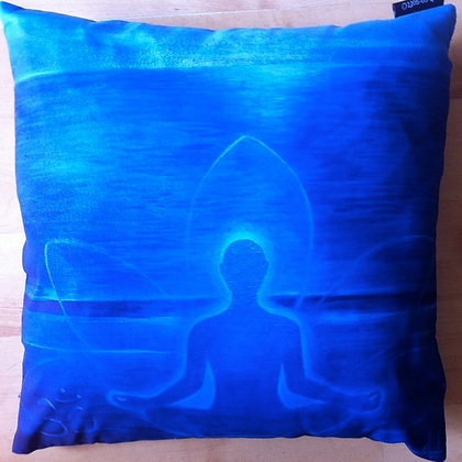 Blue Buddha Cushion