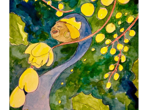 Oshun and Flowering Between The Fences - Wild Wisdom Soul Story