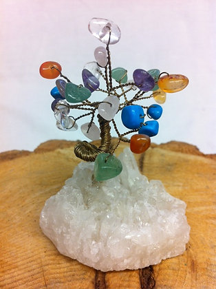 MIniature Mixed Gem Tree