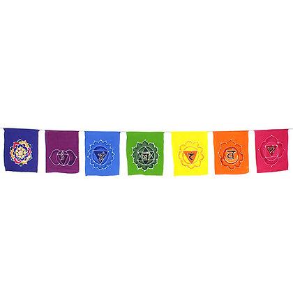 Fair Trade Chakra Batik Flags