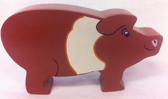 Fair Trade Wooden Piggy