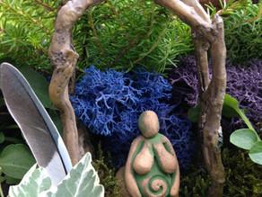 Goddess Garden Tiny Living Shrines