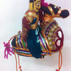 Mini Indian hand made puppet