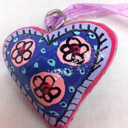 Fair Trade Hanging Heart Decoration