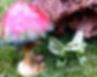 Cheshire, Toy, Shop, Magic, Mushroom, Fairy, Garden, Miniature, Jack In The Green, Glebe Farm, Astbury, Congleton, Staffordshire,