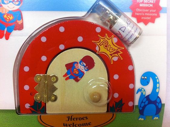 Super Hero Opening Fairy Door