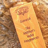 Ganesh Incense Fair Trade Mothers India