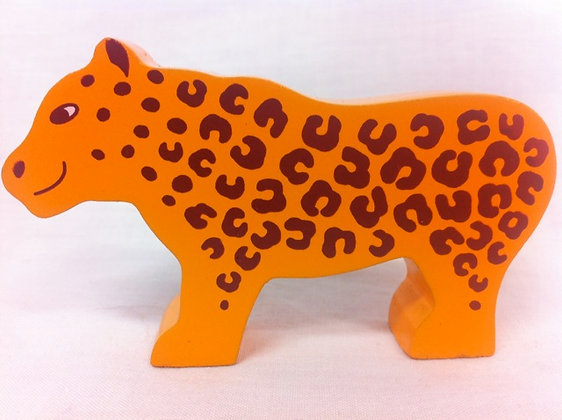 Wooden Fair Trade Leopard