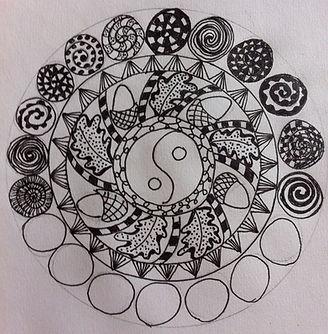 Zen Doodle Mandala Making Mindfulness Workshop