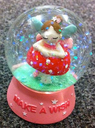 Fairy Wish Glitter Globe