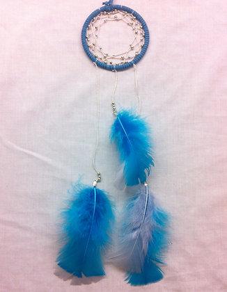 Rebecca's Blue Dreamcatcher