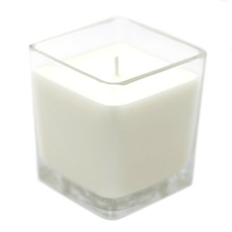 Lily & Jasmine Soy Wax Candle In A Recycled Glass Pot