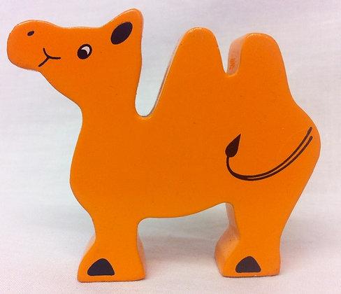 Fair Trade Wooden Camel