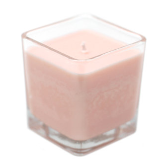 Pomegranate & Orange Soy Candle in Recycled Glass Pot