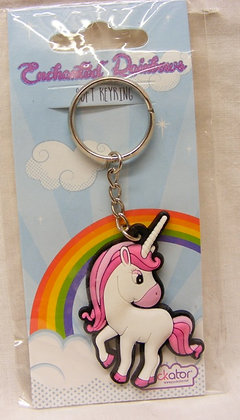 Pink Pegasus Keyring