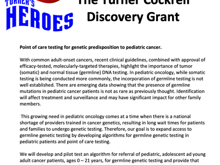 Introducing Our First Discovery Grant!