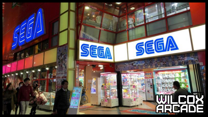 Sega Announces Fog Gaming Service for Arcades