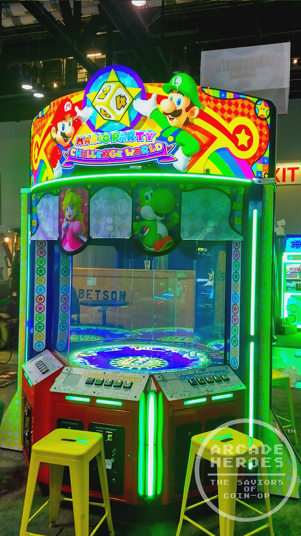 I stole this image from Arcade Heroes because I'm not cool enough to go to IAAPA.