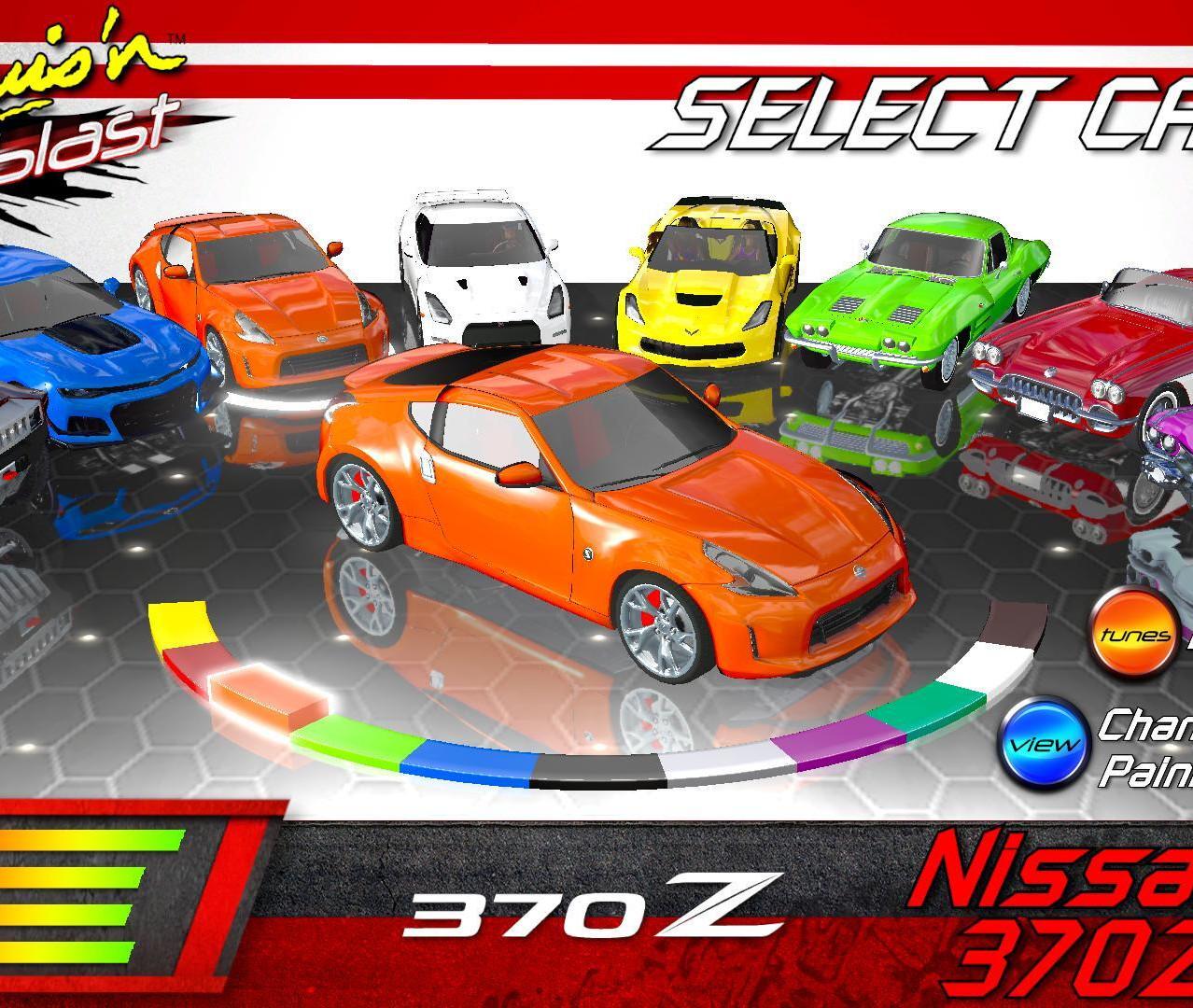 Cruis'n Blast - Nissan 370Z