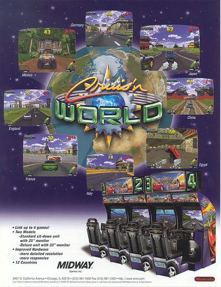 Cruis'n World (Arcade) Review