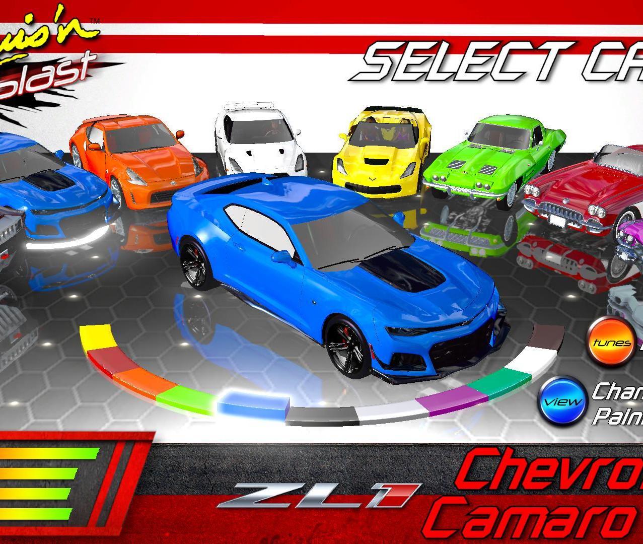 Cruis'n Blast - Chevy Camaro ZL1