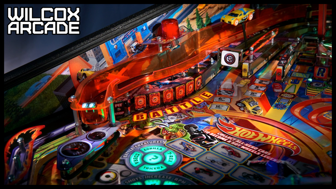 American Pinball's Hot Wheels Gets a Teaser Trailer