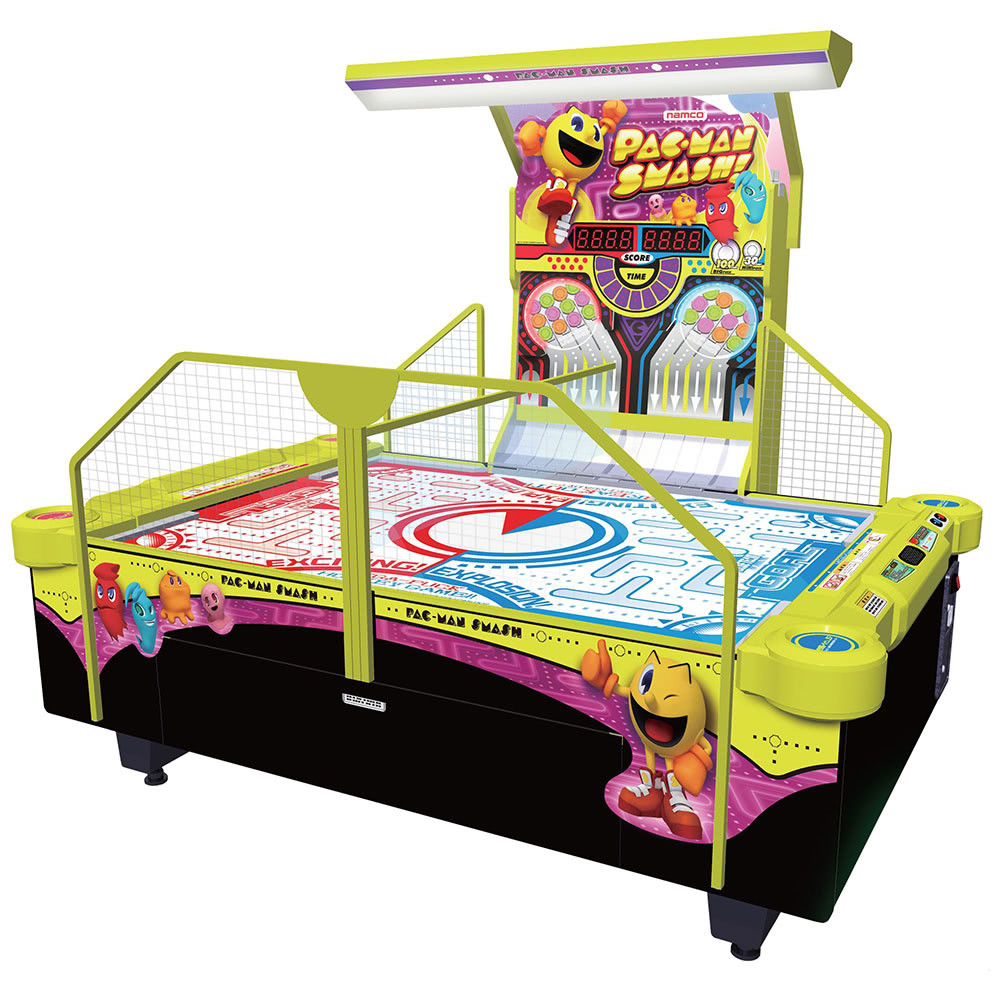 Pac-Man Smash Deluxe Air Hockey Table