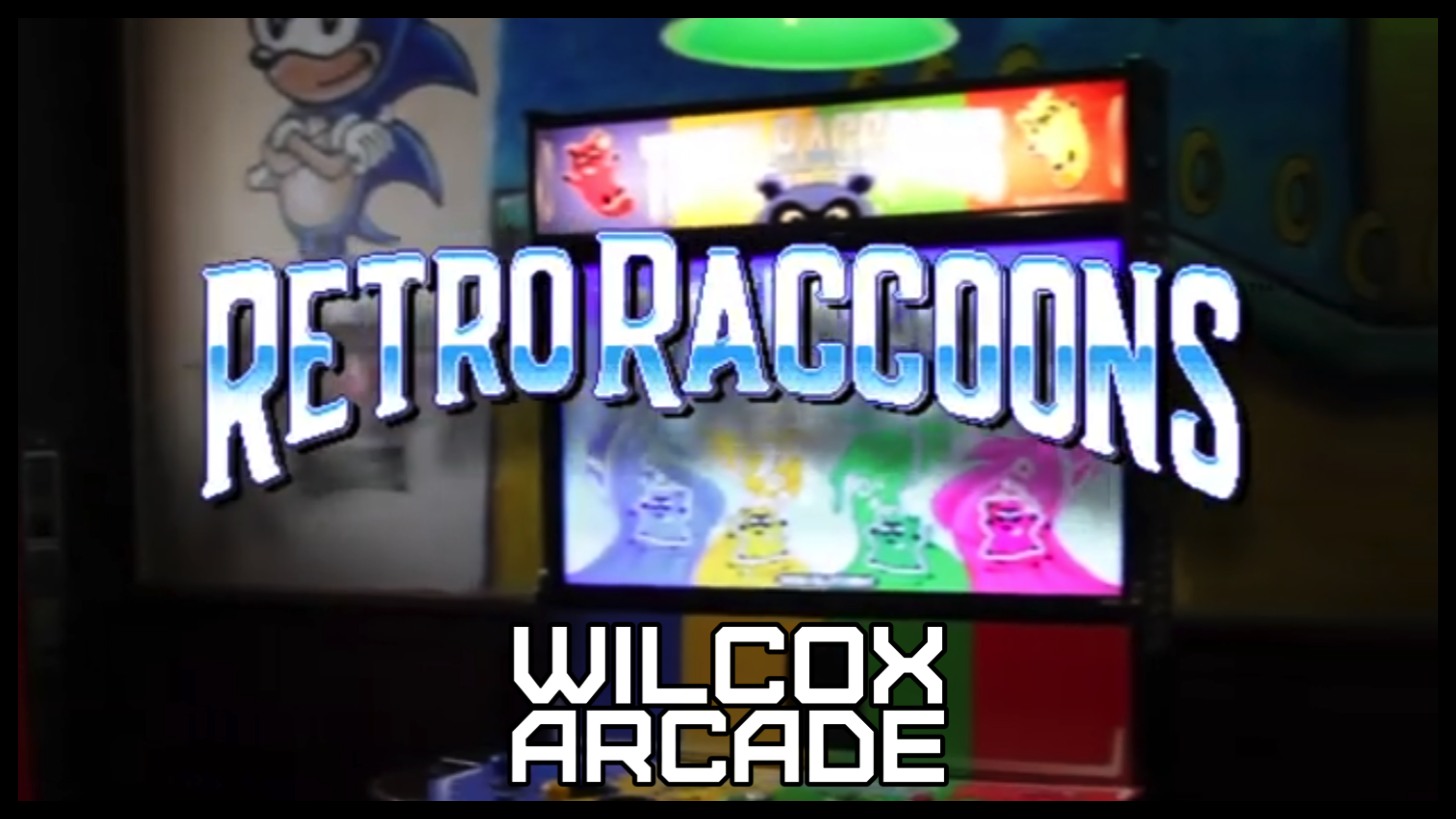 Tipsy Raccoons Now Titled Retro Raccoons and Published by Incredible