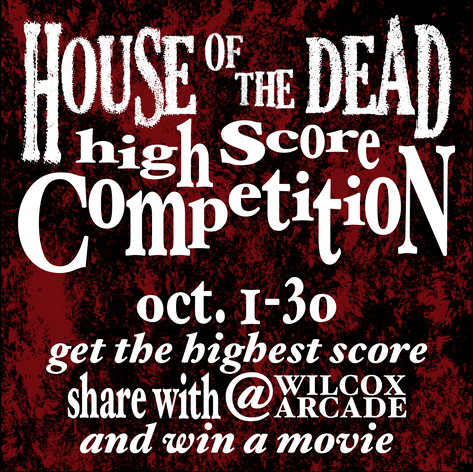 House of the Dead High Score Competition