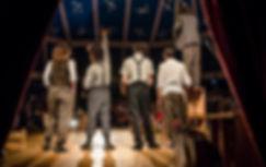 Foto en la carpa del Circo Tranzat