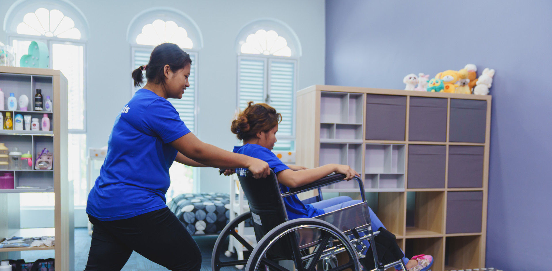 Maid Wheelchair Training