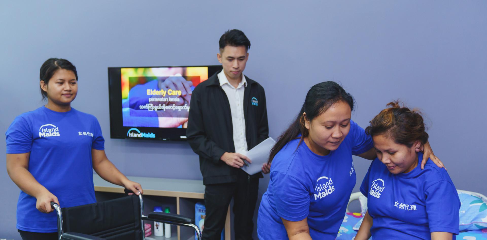Elder Care Maid Training In Singapore (CTG Grant)