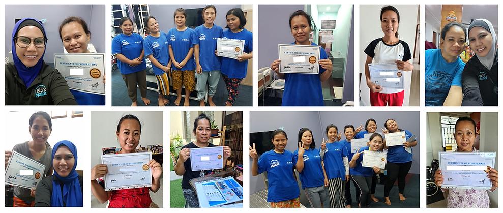 #1 Singapore Maid Training School & Maid