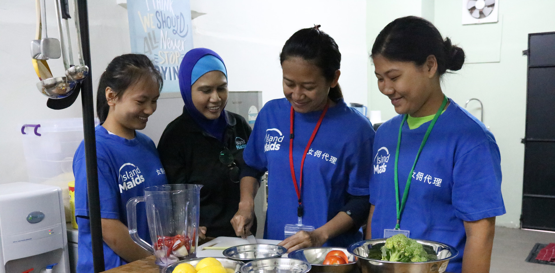 Maid Cooking Class In Singapore