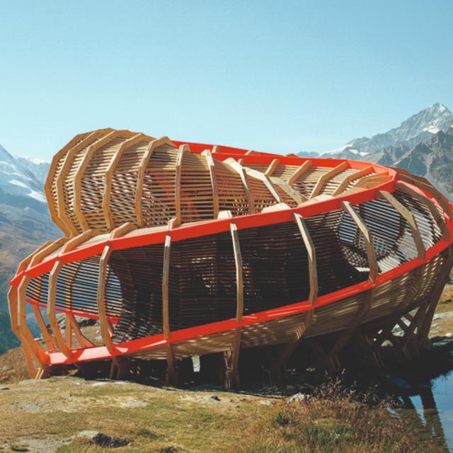Wood, la obra imponente de William Hall