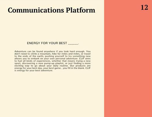 Comms Platform