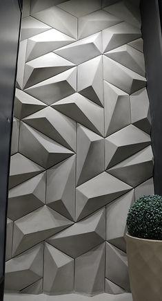 Revestimento Cimentício 3D - Decortiles Trapézio