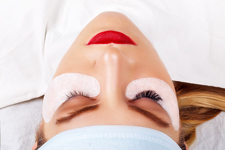 Canva - Eyelash Extension Procedure. Wom